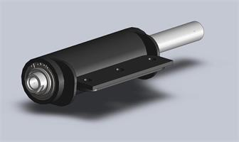 Hydraulkolv 60/30 200 mm slag M20 invändig gänga