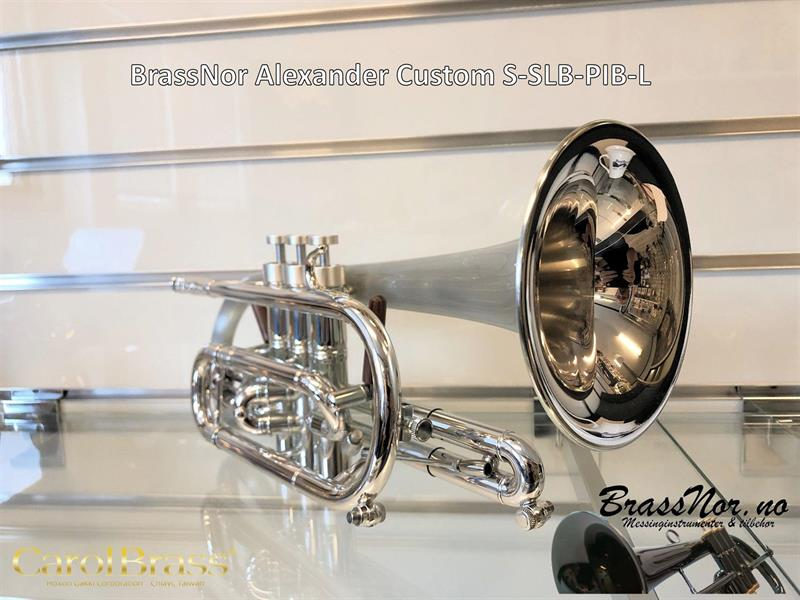 BrassNor Alexander CustomT S-SLB-PIB kornett