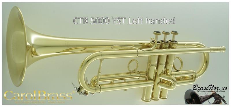 Bb trompet CTR 5000L-YST L venstre demo