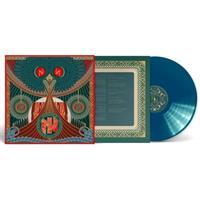 NIDINGR: THE HIGH HEAT LICKS AGAINST HEAVEN-LTD BLUE LP