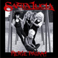 SANTA LUCIA: PERSE PALAA!-KAIKKI LEVYTYKSET 1987-1992-MUSTA 3LP