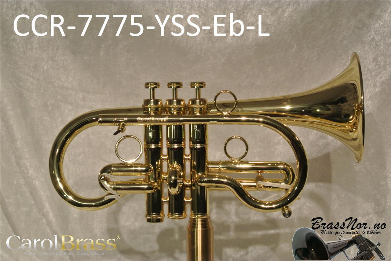 Kornett Eb CCR-7775-YSS-Eb L, M bore de luxe bag
