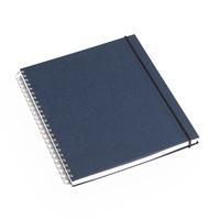 Notatbok 170x200 Iris Blå Linjert
