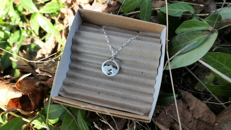 Halsband Berg, sterling silver