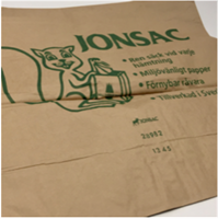 Papppsäck med innerpåse 125L, 25st/bunt