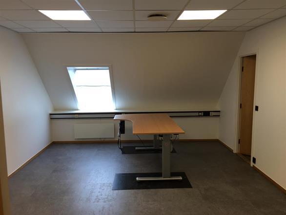 Vi har fjernet vegg og pusset opp Kontor i Oslo Sentrum - Februar/mars 2018