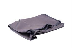 Harmaa mikrokuitu ikkunaliina - Microfibre Towel Glass/Velvet - Silk Top Grey 50 x 70cm
