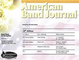 AMERICAN BAND JOURNAL No 317 - 321
