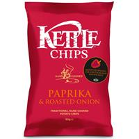 Kettle Chips Paprika & Roasted Onion 150g