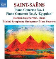 SAINT-SAENS: PIANO CONCERTOS 4 & 5 (FG)