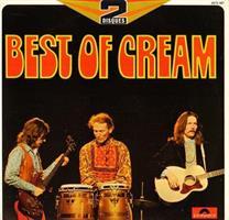 CREAM: BEST OF CREAM (POLYDOR FRANCE 1973)-KÄYTETTY 2LP