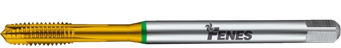 Fenes Gängtapp rak 1200 TIN M8 DIN 371