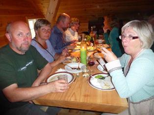 Bespisning i Kulturstua i Ro