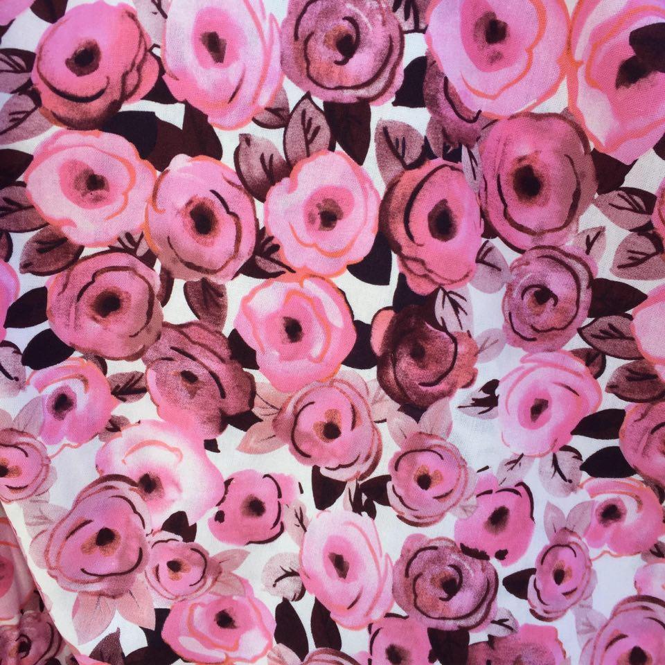 Lin/viscose rosa1
