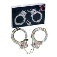 Coloured Diamond Handcuffs