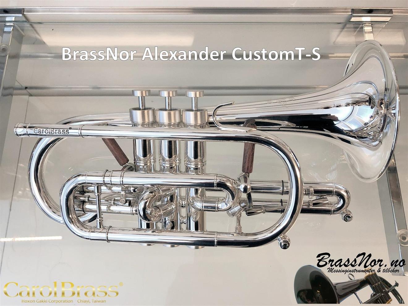 BrassNor Alexander CustomT Sølv