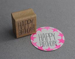 Stempel Large Happy Birthday Stående