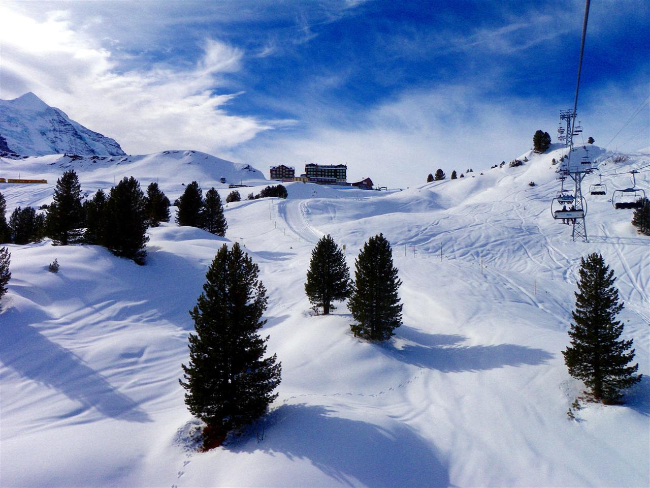Hotell Bellevue des Alpes, Schweiz