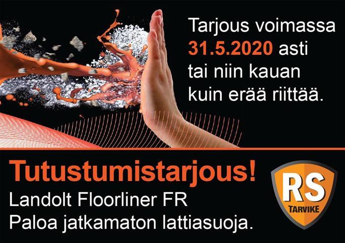 Tutustumistarjous: Floorliner FR huippuhintaan