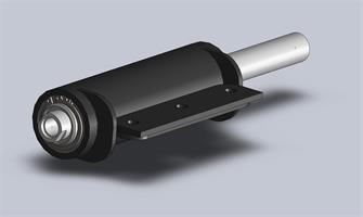 Hydraulkolv 60/30 140 mm slag M20 invändig gänga