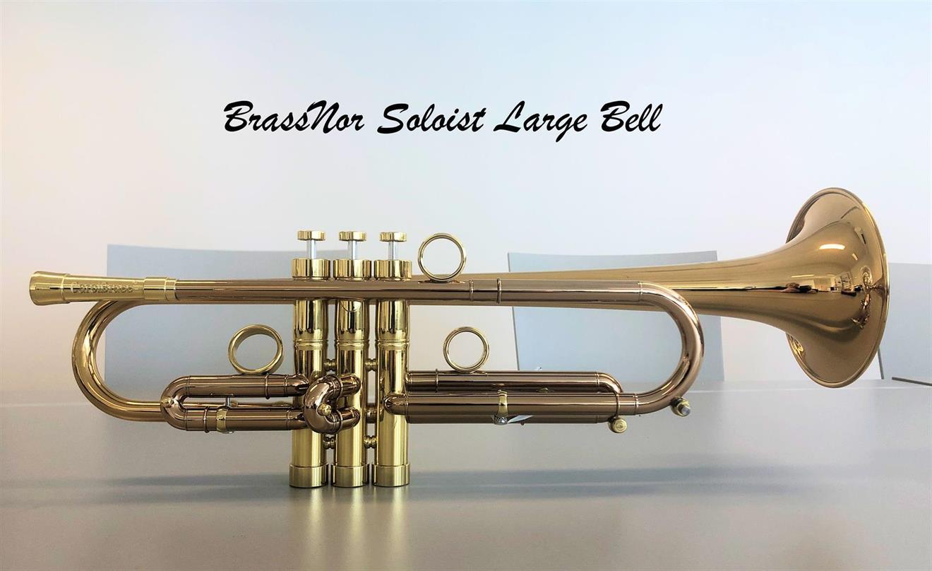 BrassNor Soloist 1110L  GLT Bb trompet lakkert