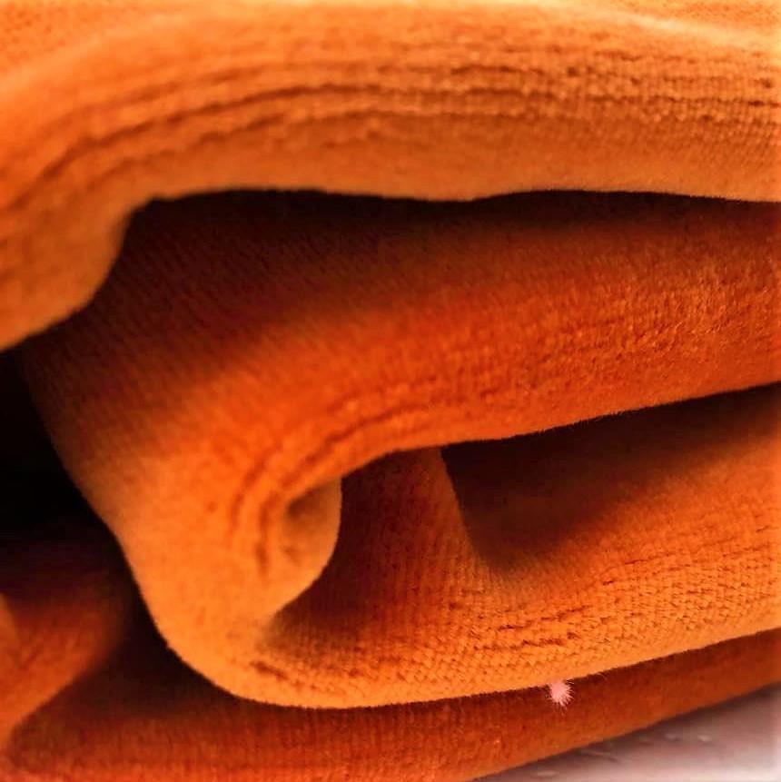 Velour orange