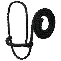 POLY ROPE SHEEP HALTER,BLACK