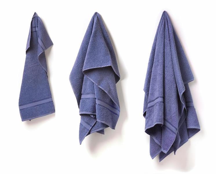 Handduk 50x70 mellanblå