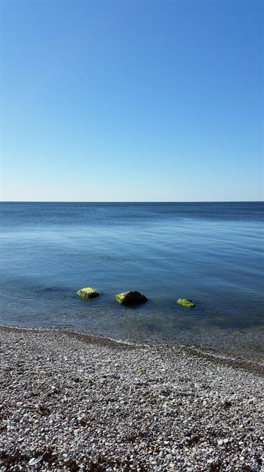 Strand och hav