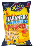 Habanero & Blue Cheese Poppers - Cheese Puffs