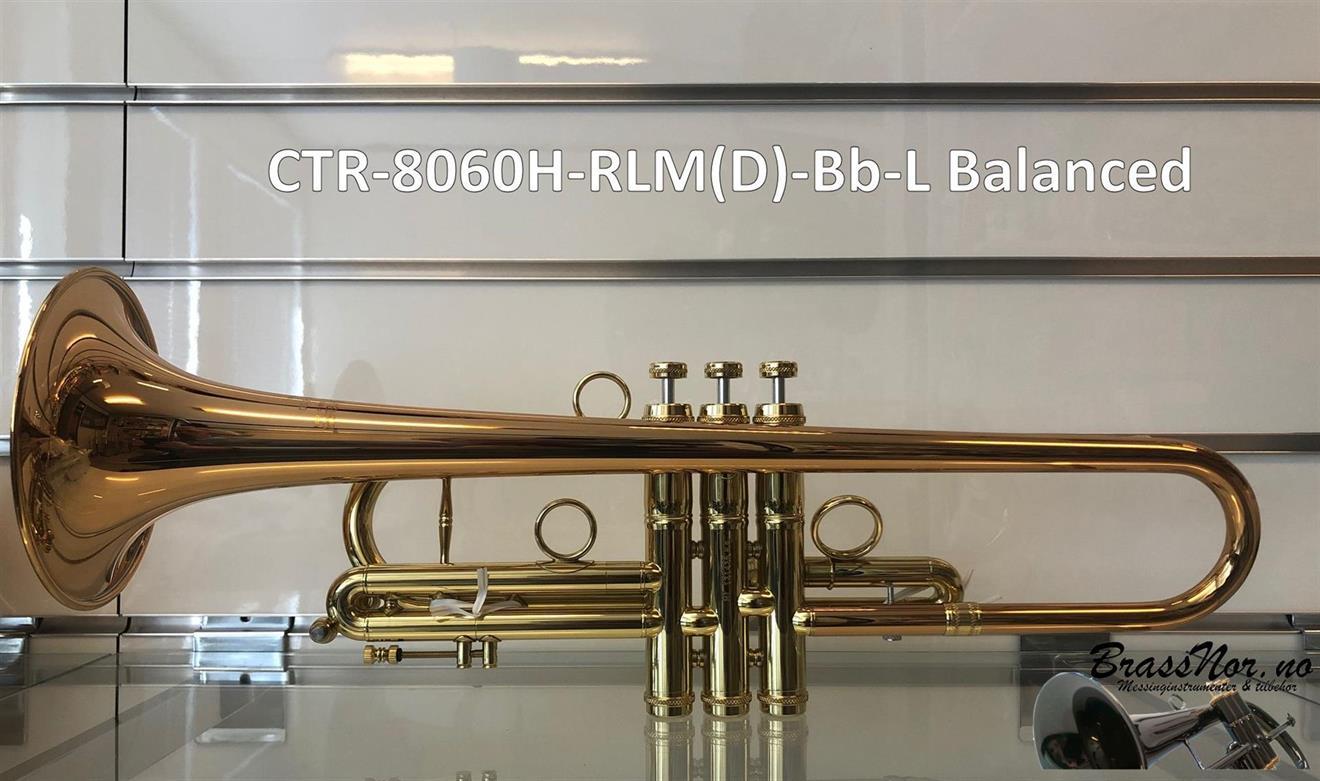 Bb trompet CTR-8060H-RLM balanced