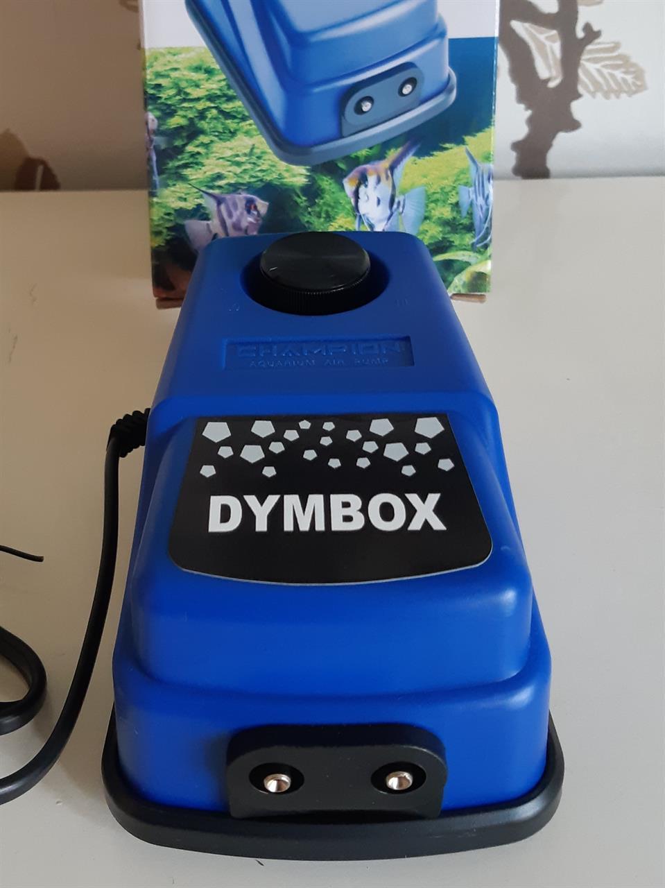DYMBOX Luftpump för rökgeneratorer. Inkl. svensk bruksanvisning, service och garanti.