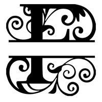 F - Monogram