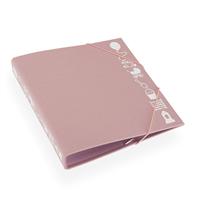 Ringperm 170*200 med barnemotiv Dusty Pink
