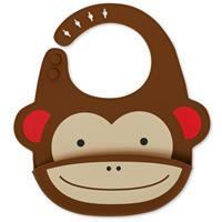Ruokalappu silikoninen Apina