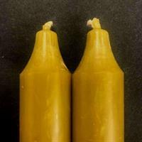 Oliven Rustik Kronelys