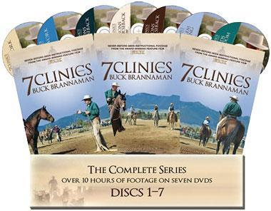 DVD Brannaman 7 Clinics 3 Set
