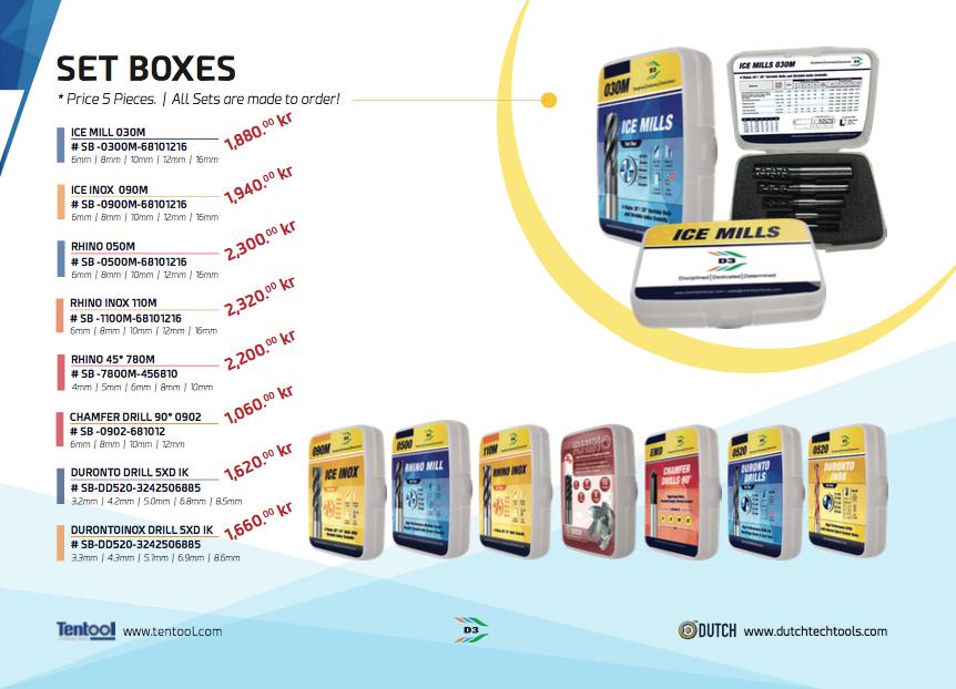 SET BOXES