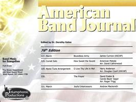 AMERICAN BAND JOURNAL 327 - 331