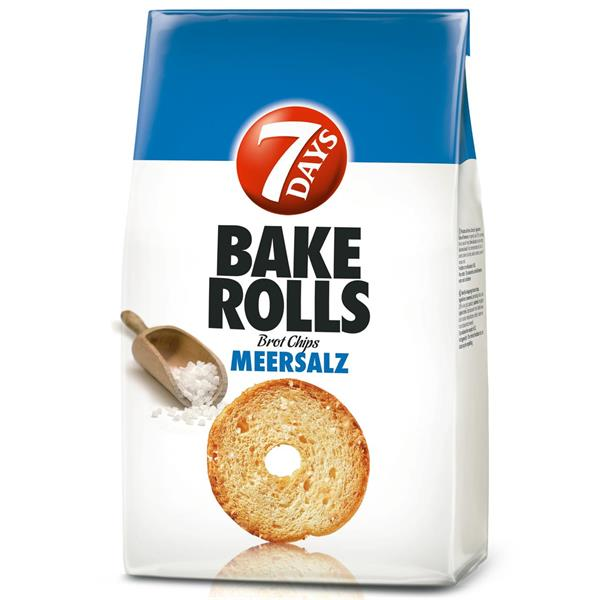 7Days Bake Rolls Sea Salt 250g