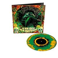 ROB ZOMBIE: THE LUNAR INJECTION KOOL AID...-LTD. YELLOW/GREEN/BLACK SPLATTER LP