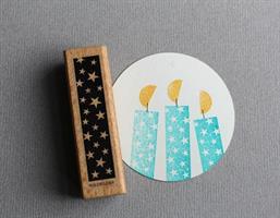 Stempel Large Tape med stjerner