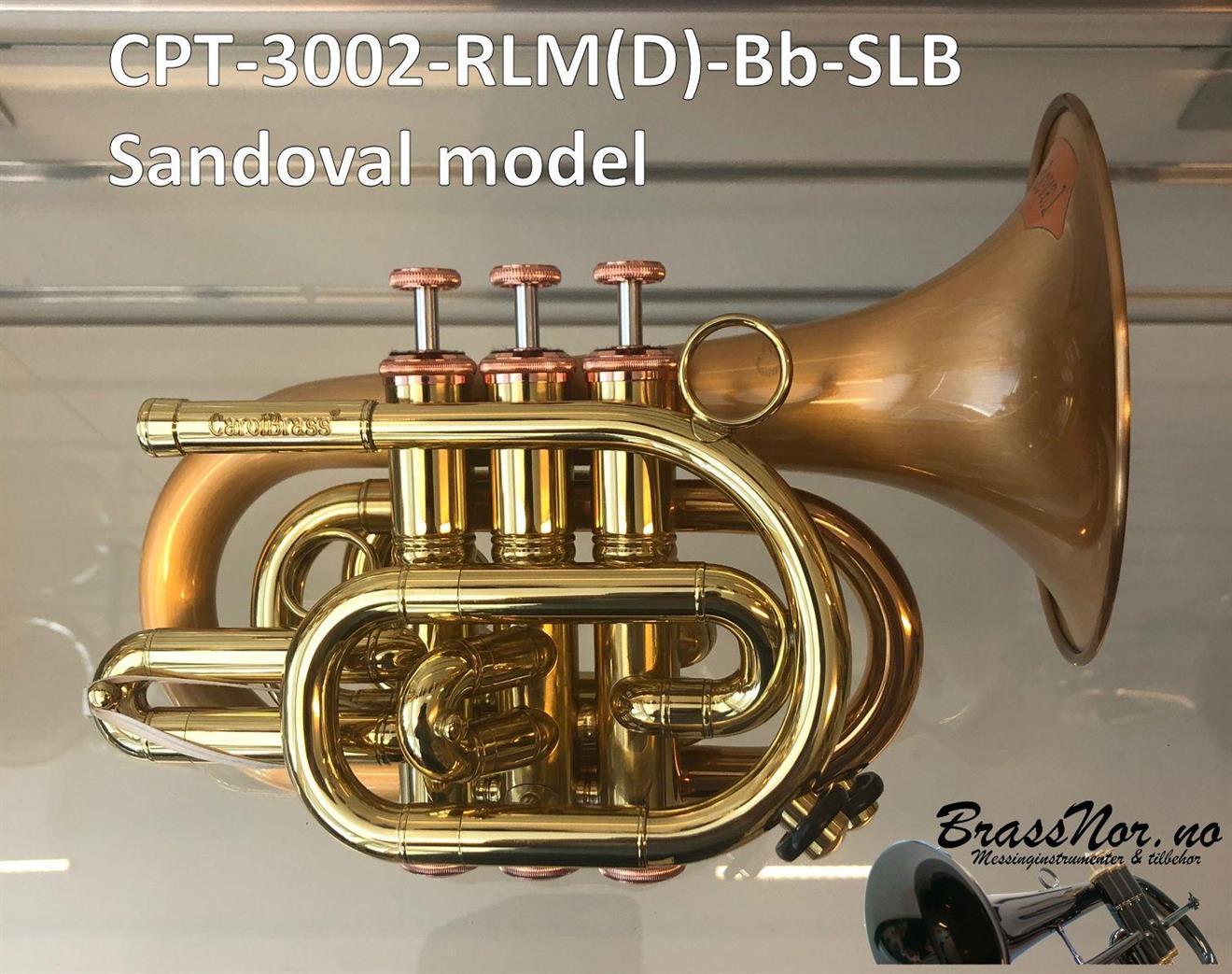 Pocket trompet CPT-3002-RLM(D) Bb Sandoval