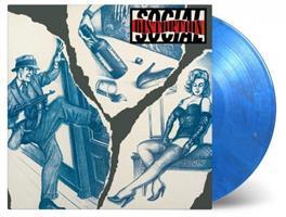 SOCIAL DISTORTION: SOCIAL DISTORTION-LTD. COLOR LP