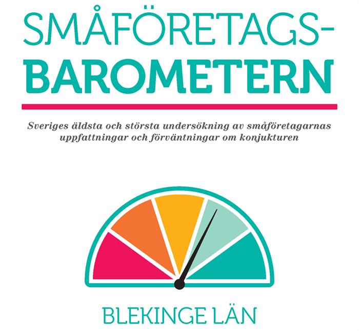 Positivt resultat för Blekinge i årets Småföretagsbarometer