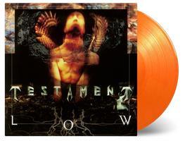TESTAMENT: LOW-NUMBERED YELLOW/ORANGE LP