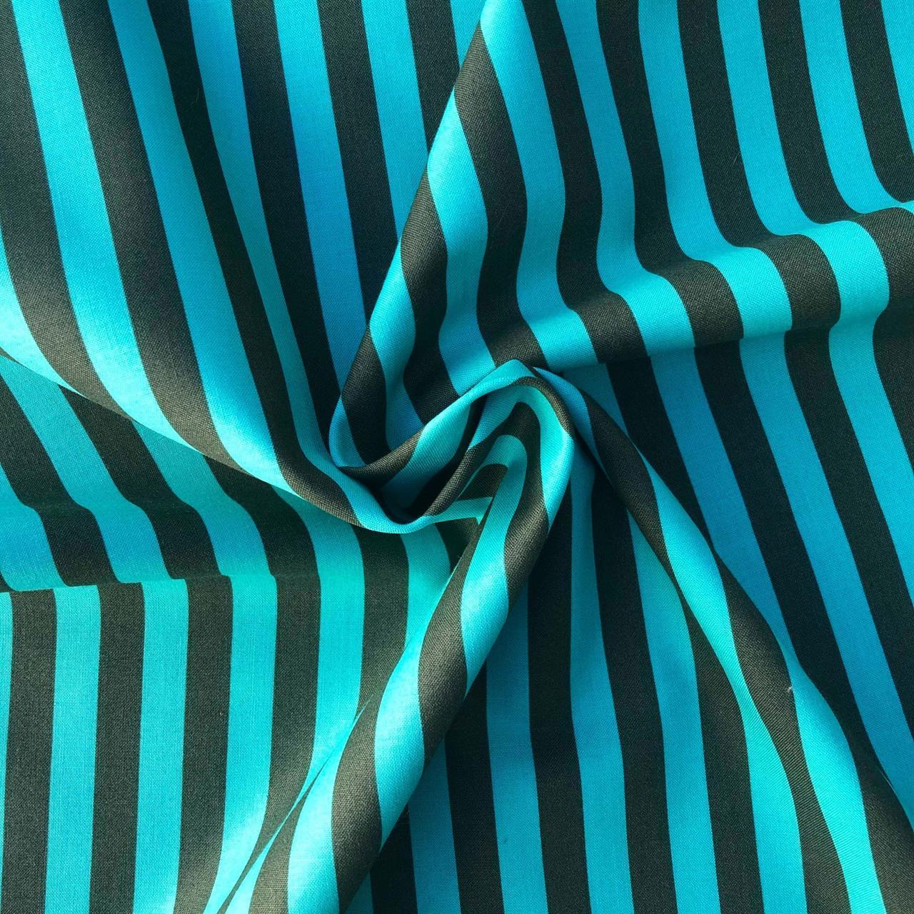 Turq stripe
