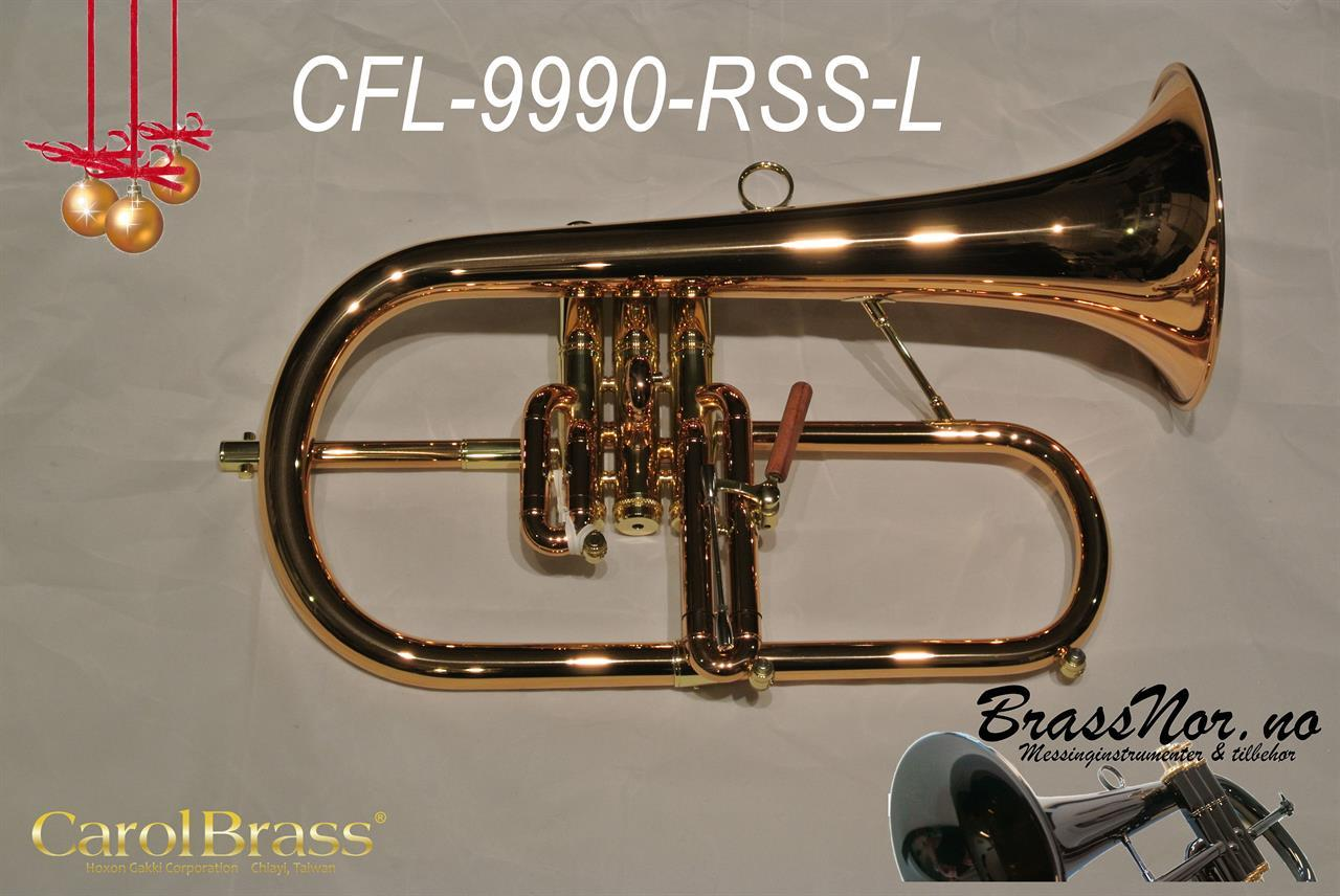 Flugelhorn CFL-9990-RSS 90% rød messing