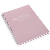 Brush Lettering Workbook Dusty Pink