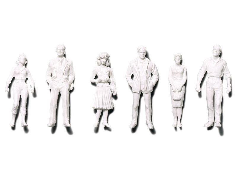 Modellfigurer stående     1:100   (18)